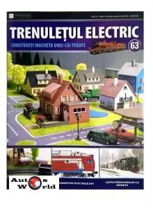 Colectia Trenuletul Electric Nr.63 diorama, Eaglemoss