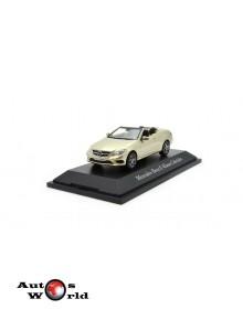 Macheta auto Mercedes Benz E-Klasse Cabriolet (C207) gri, 1:43 Kyosho