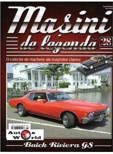 Masini De Legenda Nr.28 - Macheta auto Buick Riviera GS 1972, 1:43 Amercom
