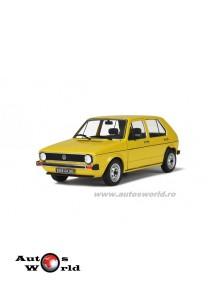 Volkswagen Golf CL galben, 1:18 Solido