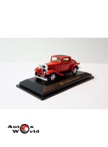 Ford 3-window rosu, 1:43 Yatming