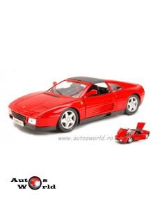 Ferrari 348ts rosu, 1:18 Bburago