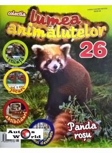 Lumea Animalutelor Nr.26 - Panda rosu , Amercom