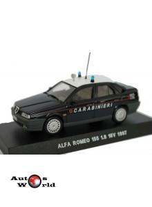 Macheta auto Alfa Romeo 155 1.8 16V Carabinieri 1997, 1:43 Deagostini