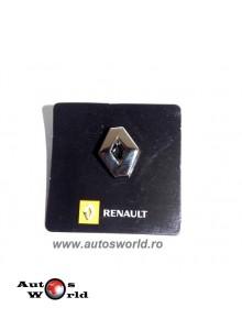 Insigna metalica Sigla Renault mare ...
