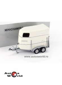 Rulota Transport cai, 1:43 Minichamps