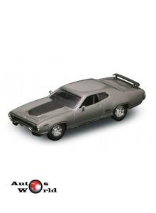 Plymouth GTX gri 1971, 1:43 Lucky Diecast