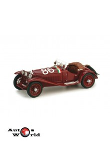 Macheta auto Alfa Romeo 1750GS Mille Miglia 1931, 1:43 Brumm