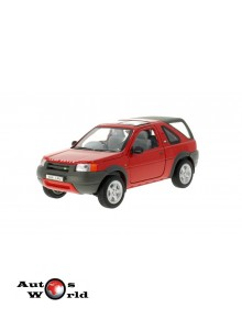Macheta auto Land Rover Freelander rosu 1998, 1:24 Welly