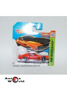 Ford Mustang Boss 302 '69, 1:64 Hotwheels