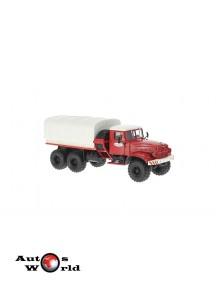 Macheta camion KrAZ 255V B.T rosu, 1:43 Special Co