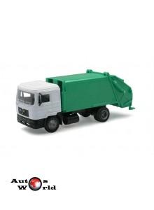 Macheta camion MAN F2000 gunoiera, 1:43 Newray