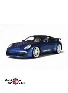 Macheta auto Porsche 911 (991) Carrera 4S 5M, 1:18 GT Spirit
