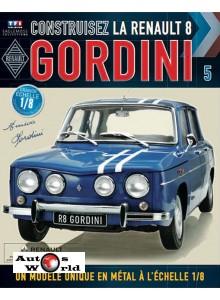 Macheta auto Renault 8 Gordini KIT Nr.5, scara 1:8 Eaglemoss