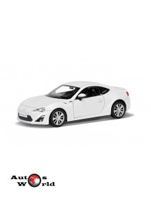 Macheta auto Toyota 86 alb 5 inch, 1:32-36 RMZ City