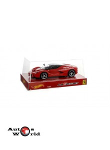 Macheta auto Ferrari LaFerrari 2013, 1:24 Hot Wheels