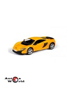 Macheta auto Mclaren 650s portocaliu 5 inch, 1:32-36 RMZ City