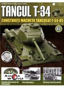 Colectia Tancul Т-34 Nr.83, 1:16 macheta kit de asamblat, Eaglemoss