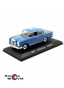 Taxiuri din lumea toata nr.23 - Mercedes 200D - Athens 1965, 1:43 Amercom