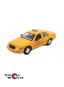 Macheta auto Ford Crown Victoria *Taxi* 1999, 1:24 Welly