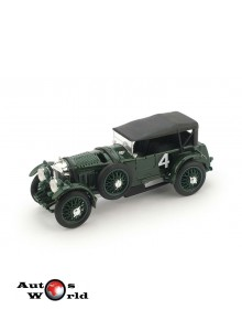 Macheta auto Bentley Speed Six #41° LeMans 1930, 1:43 Brumm