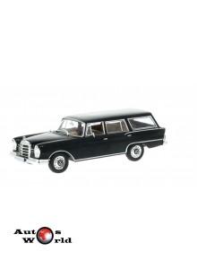 Macheta auto Mercedes 230 S Universal negru 1967, 1:43 Whitebox