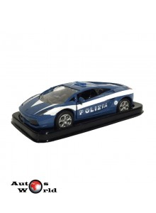 Masini de Politie nr6 - Macheta auto Lamborghini Gallardo Italia, 1:43 Amercom