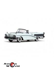 Macheta auto Buick Special decapotabil alb 1958, 1:43 Vitesse