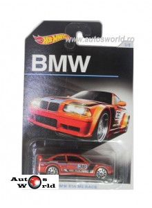 BMW M3 E36 Race, 1:64 Hotwheels
