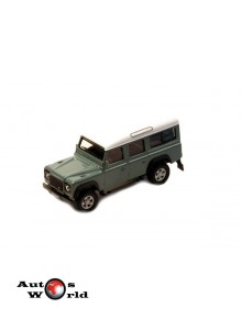 Macheta auto Land Rover Defender verde, 1:72 Cararama