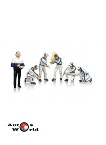 Figurine Set Pit crew Team Martini Racing, 1:18 TSM