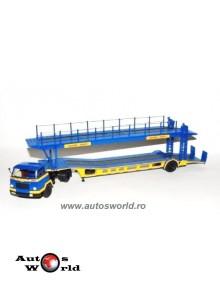 Camion Unic MZ36 TCA platforma auto, 1:43 Ixo