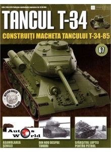 Colectia Tancul Т-34 Nr.67, 1:16 macheta kit de asamblat, Eaglemoss