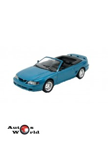 Macheta auto Ford Mustang GT convertible albastru, 1:18 Jouef Evolution ...