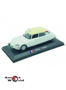 Taxiuri din lumea toata nr.20 - Citroen DS 19 - Paris - 1968, 1:43 Amercom
