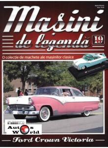 Masini De Legenda Nr.19 - Macheta auto Ford Crown Victoria 1955, 1:43 Amercom