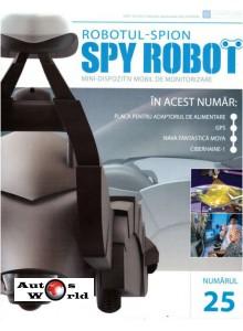 Colectia Spy Robot Nr 25 Kit de asamblat, Eaglemoss