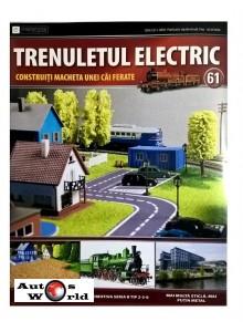 Colectia Trenuletul Electric Nr.61 diorama, Eaglemoss