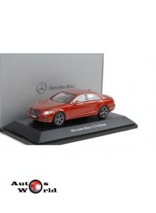 Macheta auto Mercedes Benz CLS (C218) rosu, 1:43 Norev
