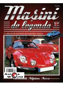 Masini De Legenda Nr.12 - Macheta auto Renault Alpine A110 1969, 1:43 Amercom