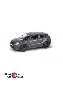 Macheta auto Land Rover Range Rover Evoque negru mat pull-back 5 inch, 1:32-36 RMZ City