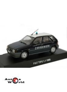 Macheta auto Fiat Tipo 1.1 Carabinieri 1989, 1:43 Deagostini