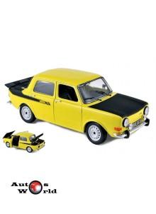 Macheta auto SIMCA 1000 Rallye 2 (1976) 1:18 galben Norev