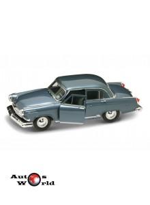 Macheta auto Gaz Volga M21 albastru 1970, 1:24 Lucky Diecast