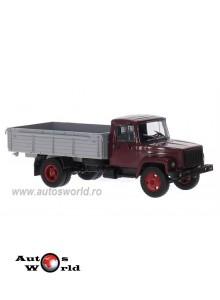 Camion GAZ 3307 cu bena, visiniu, 1:43 Auto Historia