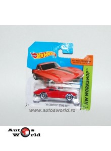 Chevrolet Corvette Stingray'64, 1:64 Hotwheels
