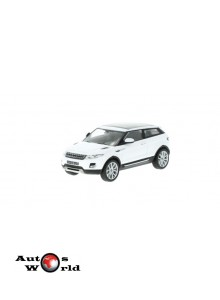 Macheta auto Land Rover Range Rover Evoque Coupe 2011 alb, 1:43 Whitebox