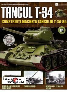 Colectia Tancul Т-34 Nr.84, 1:16 macheta kit de asamblat, Eaglemoss