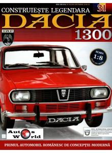Macheta auto Dacia 1300 KIT Nr.31 - rezervor, scara 1:8 Eaglemoss