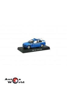 Macheta auto BMW 320i Activa 2000 Polizia, 1:43 Deagostini